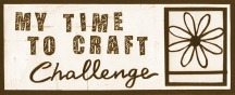 My Time To Craft Challenge
