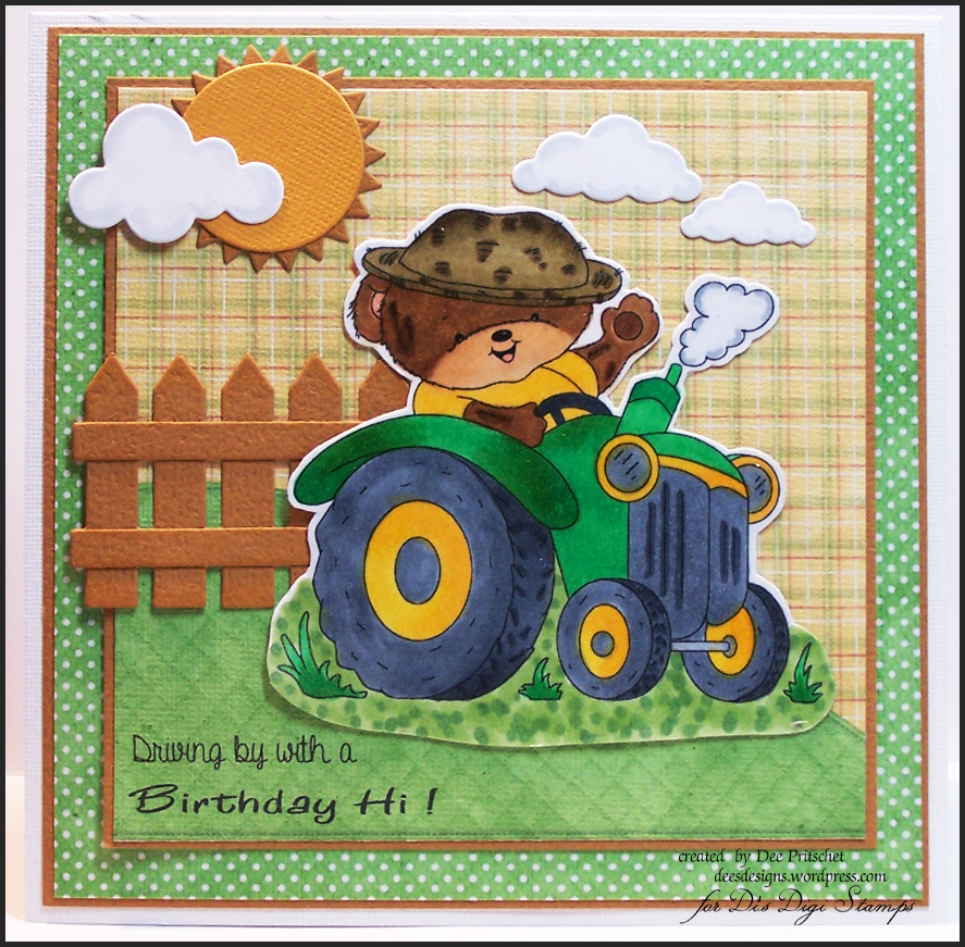 Tractor Ted – Tractor Birthday Cards