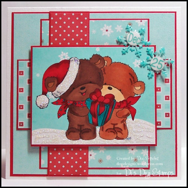 Christmas Present Bear