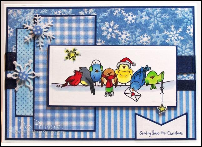 Seven Christmas Birds